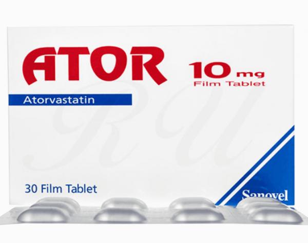 Ator 10mg tablet 10's
