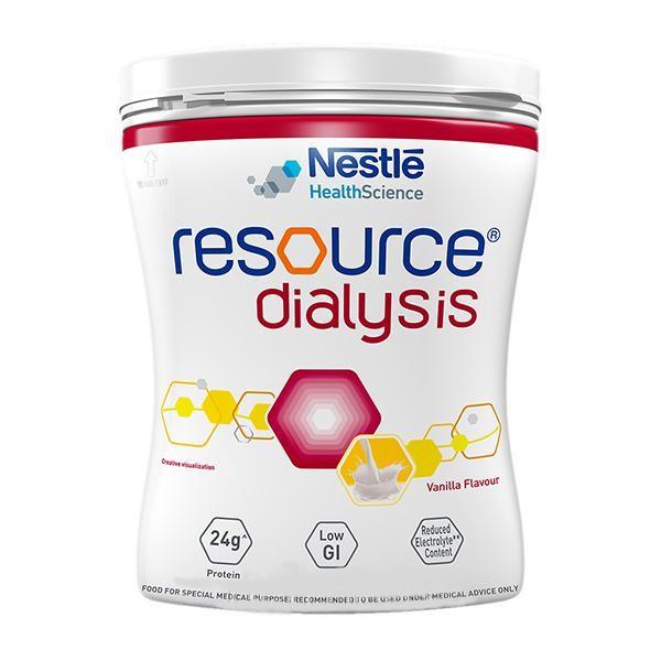 Nestle Resource Dialysis Powder - Vanilla Flavour 400 gm (Pet Jar)